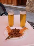 guadix, andalousie, tapas,apéro,bars et restaurants de la ville