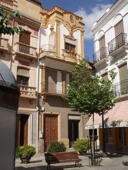 Une place à Guadix