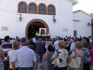 15 aout, typique, procession vierge de gracia, quartier de la location, a faire