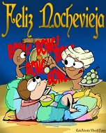 nouvel an espagne, nochevieja, guadix, cueva,uvas de la suerte, minuit et raisins de la chance, Andalucia, andalousie