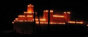 Semaine Sainte à Guadix, Alcazaba de Guadix, Monument de Guadix, Voir à Guadix près de Grenade, Semana Santa Guadix cerca de Granada, Province de Granada