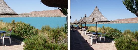 Bar,restaurant,bord de plage,terrasse,manger, boire,lac negratin,proche de Guadix,bonne adresse