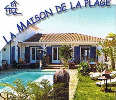 chambres d'hotes avec piscine Andernos-les-Bains en bordure de plage, une étape entre Paris et l'Espagne