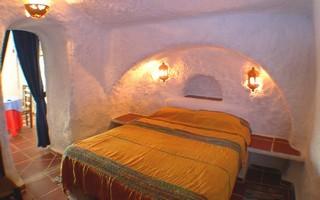chambre du gite andalousie