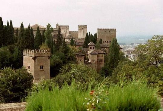généralife,alhambra,palais,visite depuis guadix,nasrides,forteresse mauresque,andalousie
