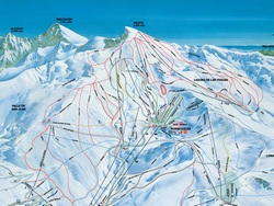 plan des pistes sierra nevada