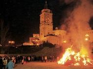San Anton, Guadix, Andalucia, Zalabi, romeria, luminarias, 17 janvier férié, dia festivo, fiesta enero