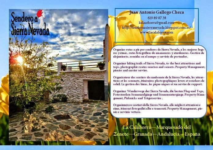organisation randonnée proche de Guadix, Province de Grenade, Andalousie, organiser les sentiers en Sierra Nevada, Alpujarra, jaen, Cazorla, malaga, axarquia